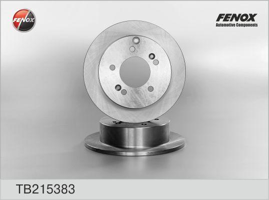 Диск тормозной Fenox TB215383 комплект 2 штTB215383
