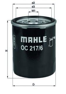 Фильтр масляный Mahle/Knecht OC2176OC2176