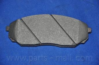 Колодки тормозные передние PMC PKB020PKB020