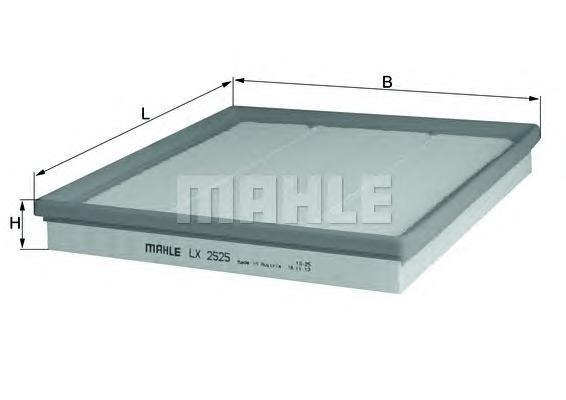 Фильтр воздушный Mahle/Knecht LX2525LX2525