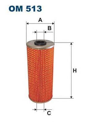 Фильтр масляный Filtron. OM513OM513