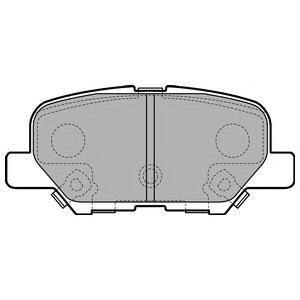 Колодки тормозные задние DELPHI LP2501LP2501