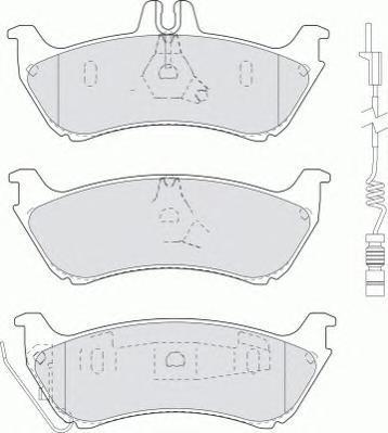 Колодки тормозные дисковые Premier Ferodo FDB1608FDB1608