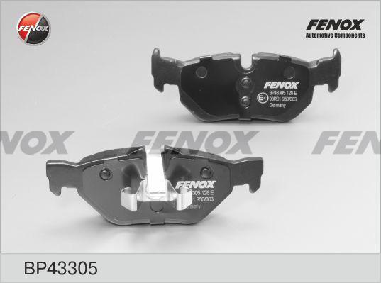 Колодки тормозные дисковые Fenox BP43305BP43305