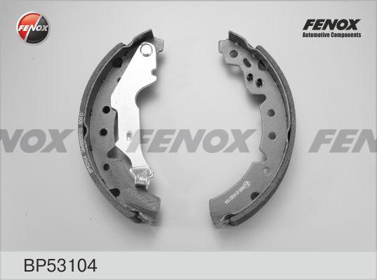 Колодки тормозные барабанныеFenox BP53104BP53104