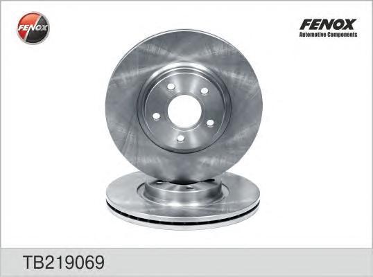 Диск тормозной Fenox TB219069 комплект 2 штTB219069