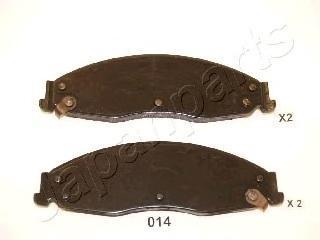 Колодки тормозные дисковые Japanparts PA014AFPA014AF