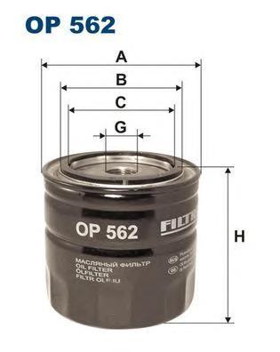 Фильтр масляный Filtron OP562OP562