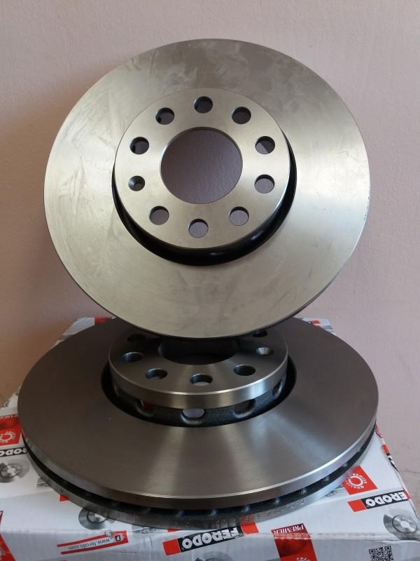 Диск тормозной передний Ferodo DDF1706 комплект 2 штDDF1706