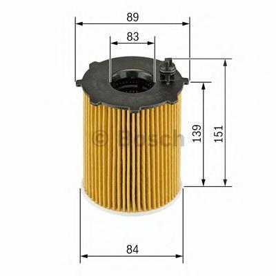 Фильтр масляный Bosch 1457429307