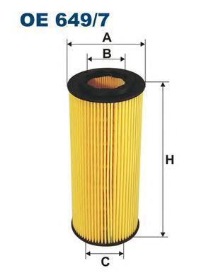 Фильтр масляный Filtron OE6497OE6497