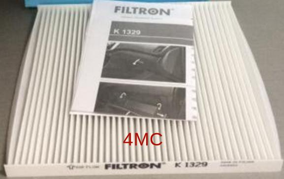 Салонный фильтр Filtron K1329K1329Фильтр салона HYUNDAI SOLARIS 11- Kia Rio III; Hyundai Accent