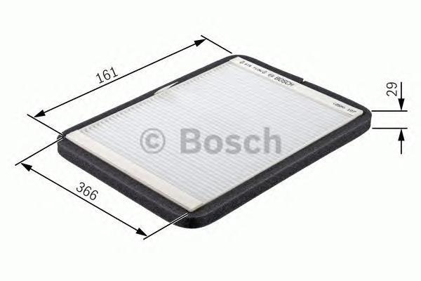 Фильтр салона Bosch 19874320431987432043