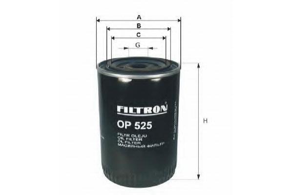 Фильтр масляный Filtron OP525OP525