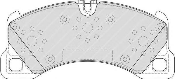 Колодки тормозные дисковые Premier Ferodo FDB4064FDB4064