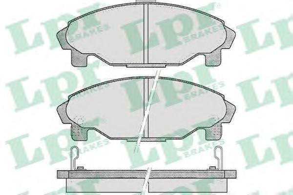 Колодки тормозные LPR / AP 05P45705P457