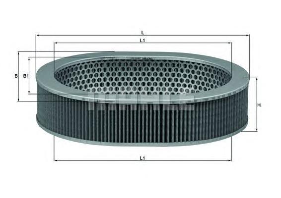 Фильтр воздушный Mahle/Knecht LX306LX306