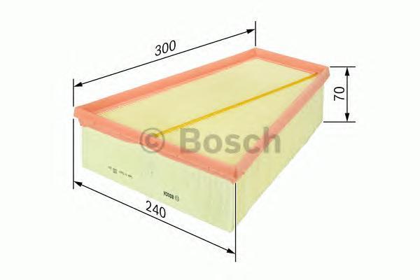 Фильтр воздушный Bosch F026400109F026400109