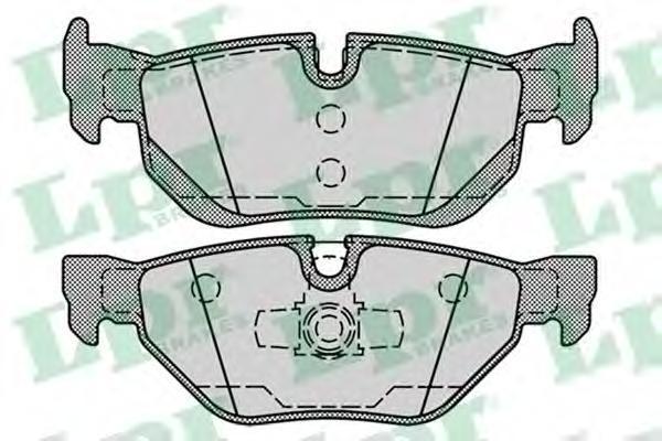 Колодки тормозные задние LPR / AP 05P125205P1252