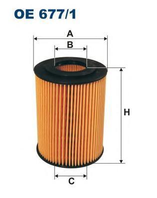Фильтр масляный Filtron. OE6771OE6771