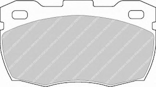 Колодки тормозные дисковые Premier Ferodo FDB871FDB871