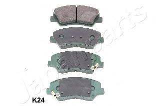 Колодки тормозные дисковые Japanparts PAK24AFPAK24AF