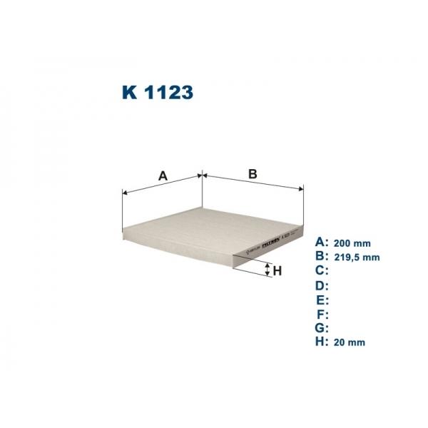 Фильтр салона Filtron K1123K1123