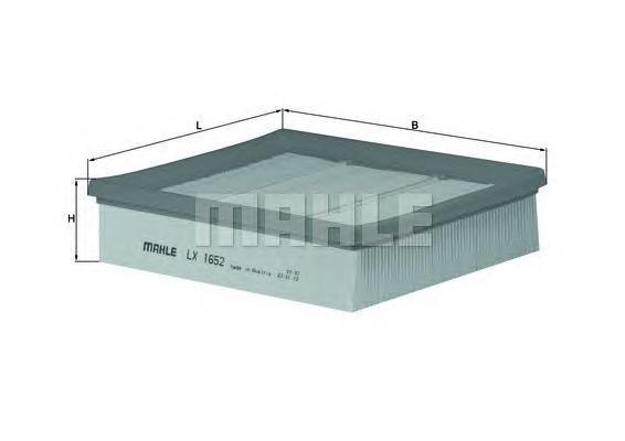 Фильтр воздушный Mahle/Knecht LX1652LX1652