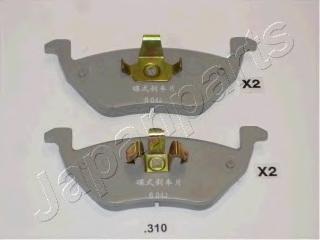 Колодки тормозные дисковые Japanparts PP310AFPP310AF