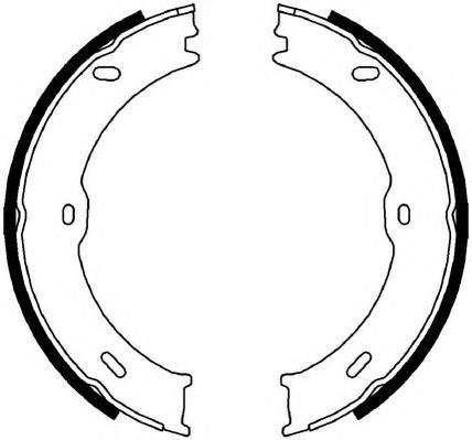 Колодки тормозные барабанныеFerodo FSB4001FSB4001