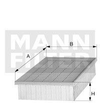 Фильтр воздушный Mann-Filter C301254C301254