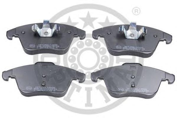 Колодки тормозные дисковые передние Optimal 1250512505