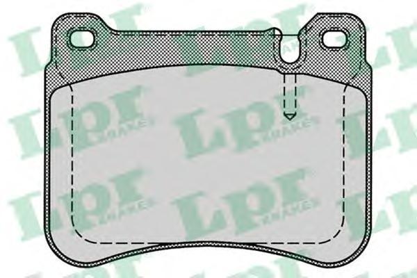 LPR / AP Колодки тормозные передний MB W203 1 8 3 5L 00. 05P127605P1276