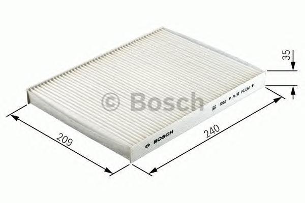 Фильтр салона (угольный) Bosch 19874324091987432409