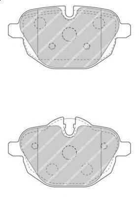 Колодки тормозные дисковые Premier Ferodo FDB4376FDB4376