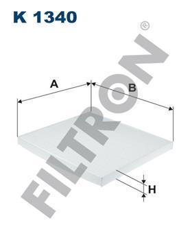 Фильтр салона Filtron K1340K1340