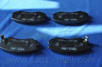 Колодки тормозные передние PMC PKAE04PKAE04