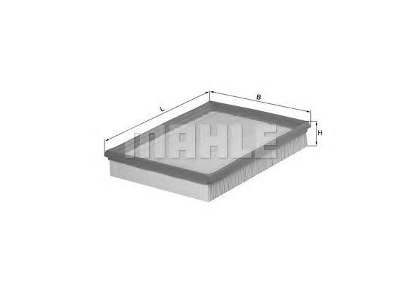 Фильтр воздушный Mahle/Knecht LX432LX432