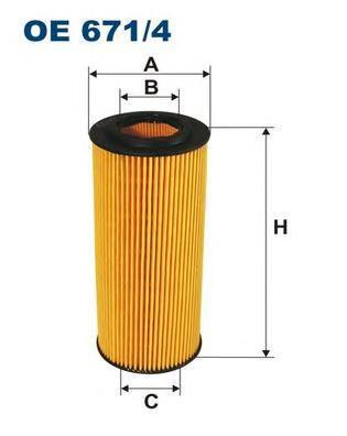 Фильтр масляный Filtron OE6714OE6714