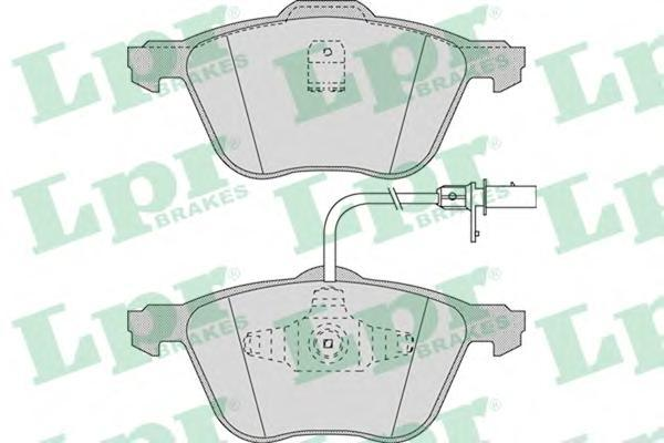 Колодки тормозные переднийLPR / AP 05P97105P971