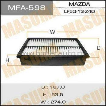 Фильтр воздушный Masuma MFA598MFA598