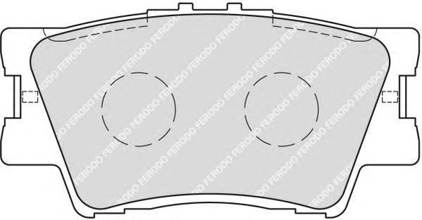 Колодки тормозные дисковые Premier Ferodo FDB1892FDB1892