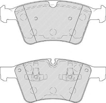 Колодки тормозные дисковые Premier Ferodo FDB4189FDB4189