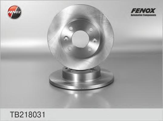 Диск тормозной Fenox TB218031 комплект 2 штTB218031