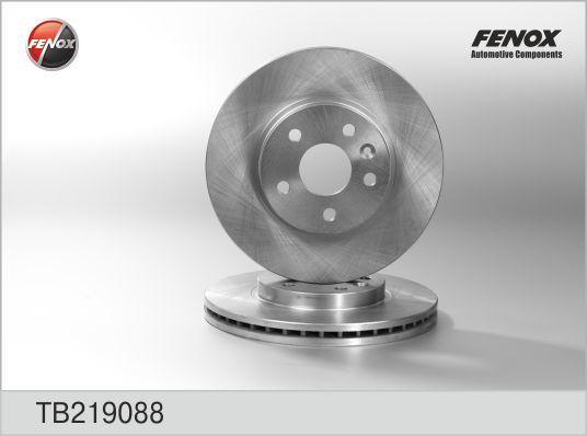 Диск тормозной Fenox TB219088 комплект 2 штTB219088