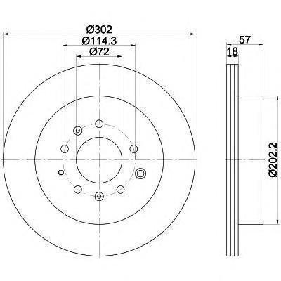 Диск тормознойзадний вентилируемыйTextar 92180903 комплект 2 шт92180903