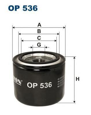Фильтр масляный Filtron OP536OP536