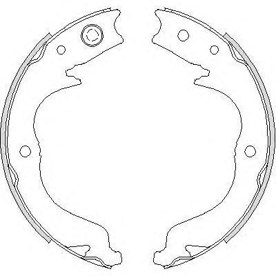 Колодки тормозные дисковые Remsa, комплект. 474800474800