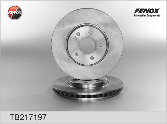 Диск тормозной Fenox TB217197 комплект 2 штTB217197