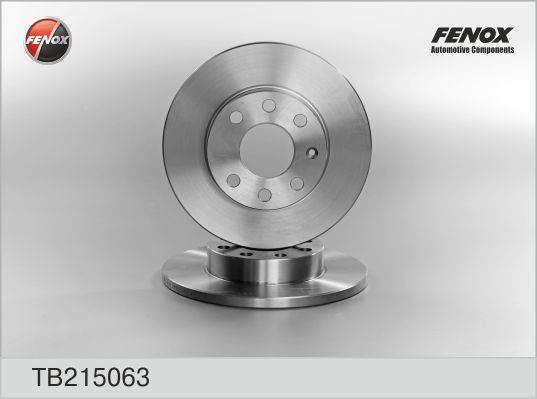 Fenox Диск тормозной. TB215063TB215063